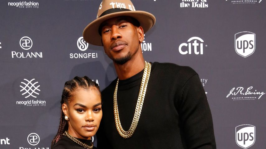 Teyana Taylor und Iman Shumpert bei der Fashion Week 2016 in New York