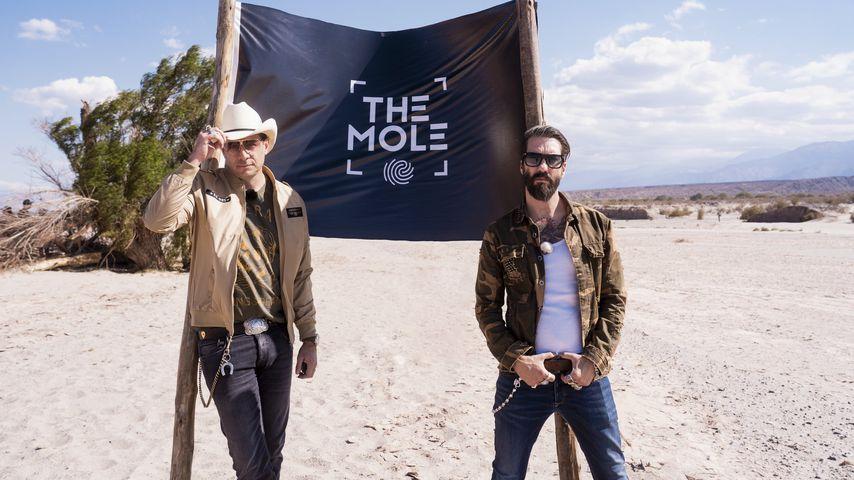 "The BossHoss, Moderatoren-Team von ""The Mole"""