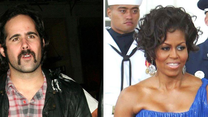 The Killers-Drummer fasst Michelle Obama an den Po