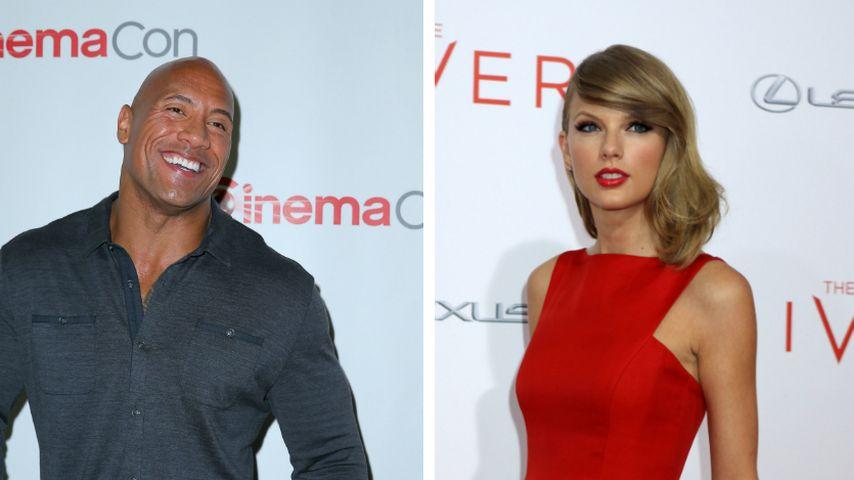 "Jetzt singt ""The Rock"" auch noch Taylor Swift"