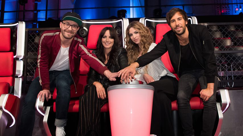 """The Voice Kids""-Jury: Mark Forster, Nena, Larissa Kerner und Max Giesinger"