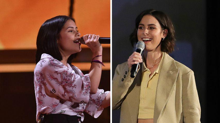 """Erstaunlich: """"The Voice Kids""""-Kandidatin ist Lenas Twin!"""