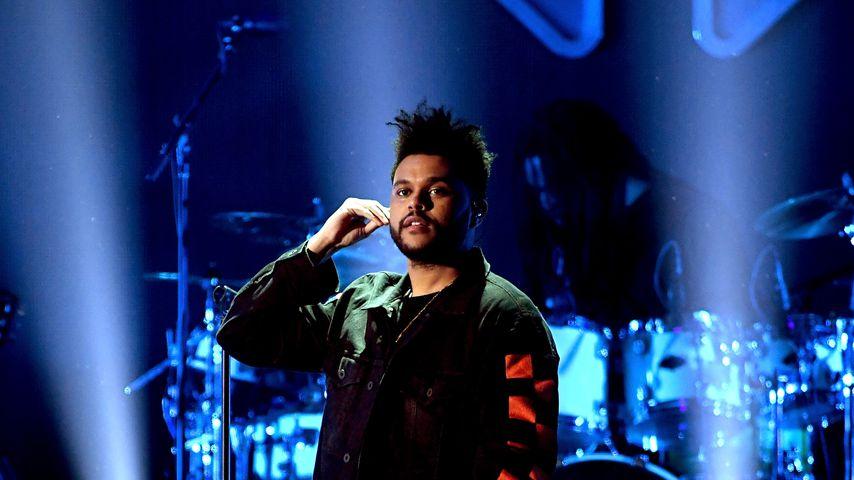 The Weeknd beim iHeartRadio Music Festival in Las Vegas 2017