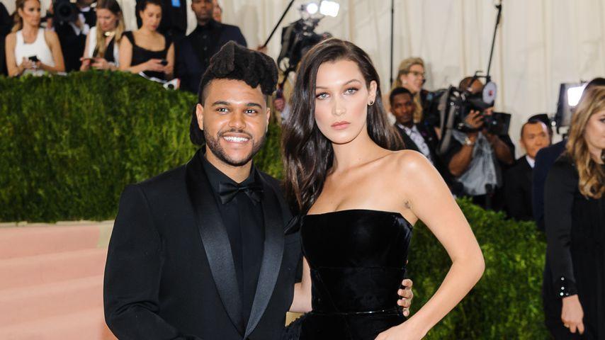 The Weeknd und Bella Hadid auf der Met-Gala 2016