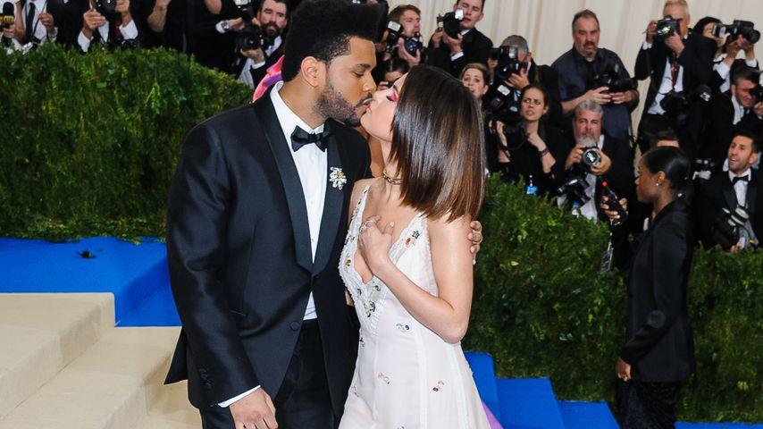 The Weeknd und Selena Gomez auf der Met Gala 2017