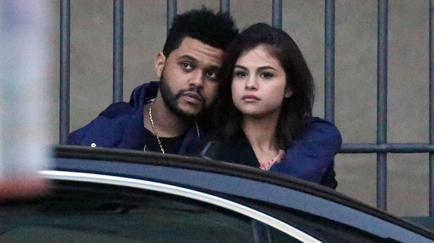 The Weeknd und Selena Gomez in Florenz