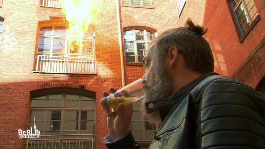 BTN-WG in Flammen: Wie emotional war's für die Darsteller?