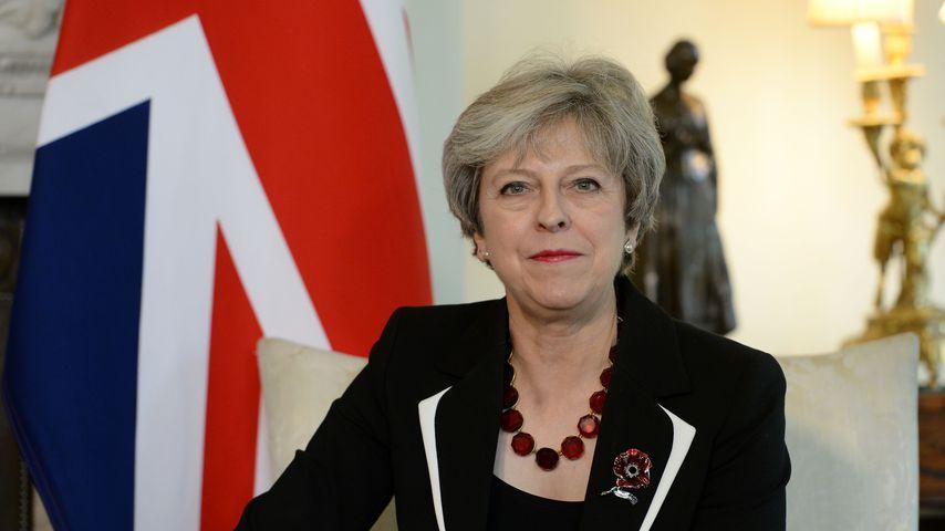 Theresa May, die britische Premierministerin