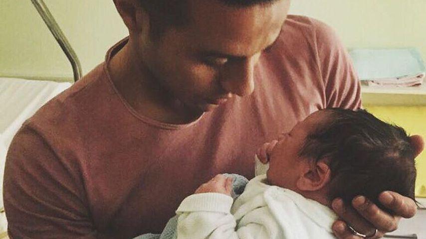 1. Baby-Pic: So süß ist FCB-Thiago Alcántaras Sohn Gabriel!