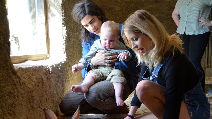 Thomas Cohen und Peaches Geldof mit ihrem Sohn Astala im Jahr 2013