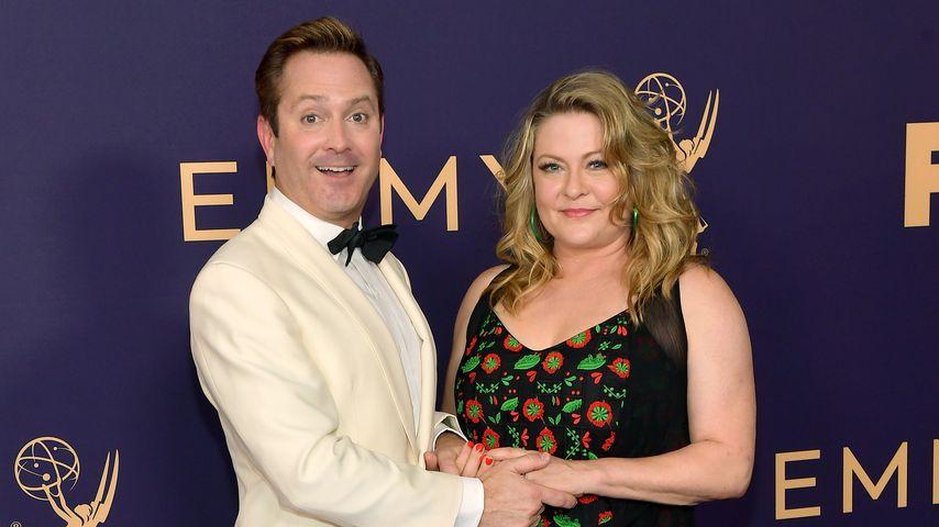 Thomas Lennon und seine Frau Jenny Robertson bei den Emmy-Awards 2019