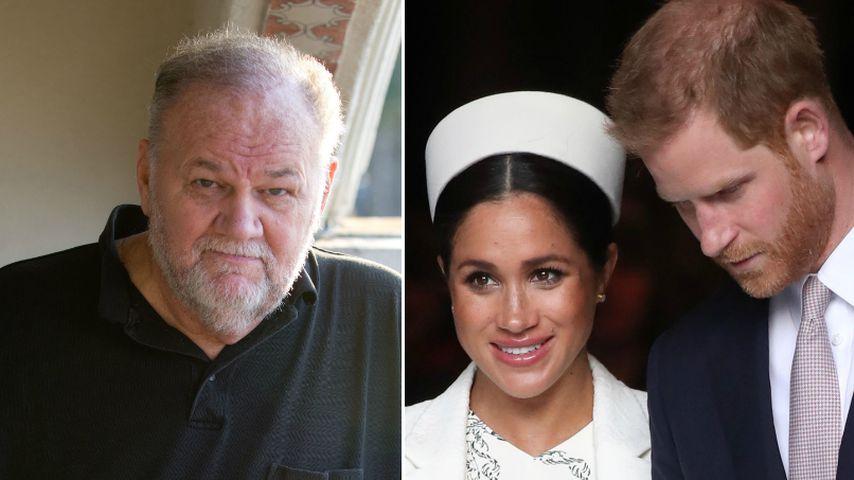 Reist Meghans Dad Thomas Markle zur Geburt nach London?