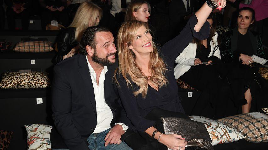 Thomas Schubert und Verena Wriedt auf der Berlin Fashion Week im Januar 2020