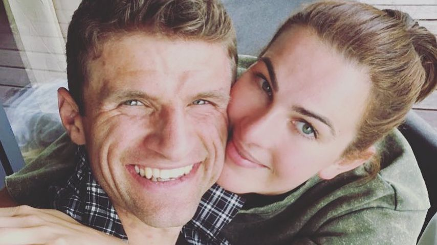 Vor DFB-Trainingslager: Thomas Müller genießt Pause mit Lisa