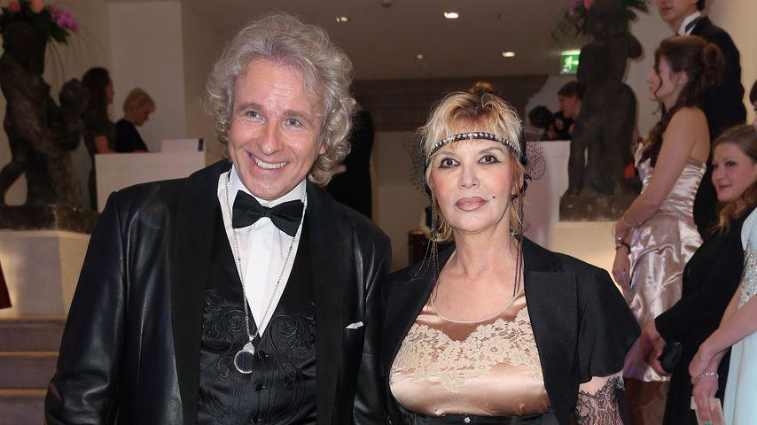 Thomas und Thea Gottschalk auf dem Semper Opernball, 2014