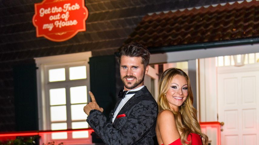 "Thore Schölermann und Jana Julie Kilka bei ""Get the Fuck out of my House"""