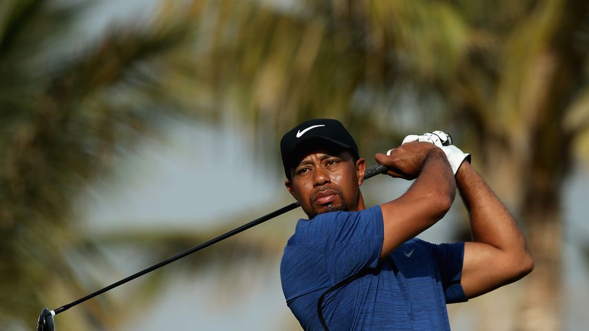 "Tiger Woods beim ""Omega Dubai Desert Classic""-Turnier 2017"