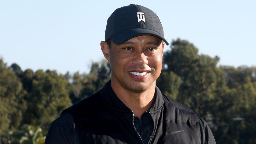 Tiger Woods im Februar 2021