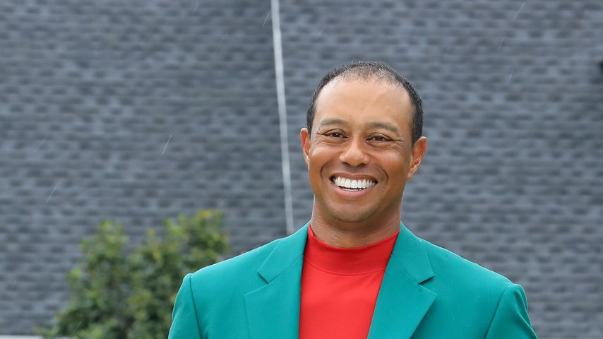Tiger Woods in Augusta am 14. April 2019