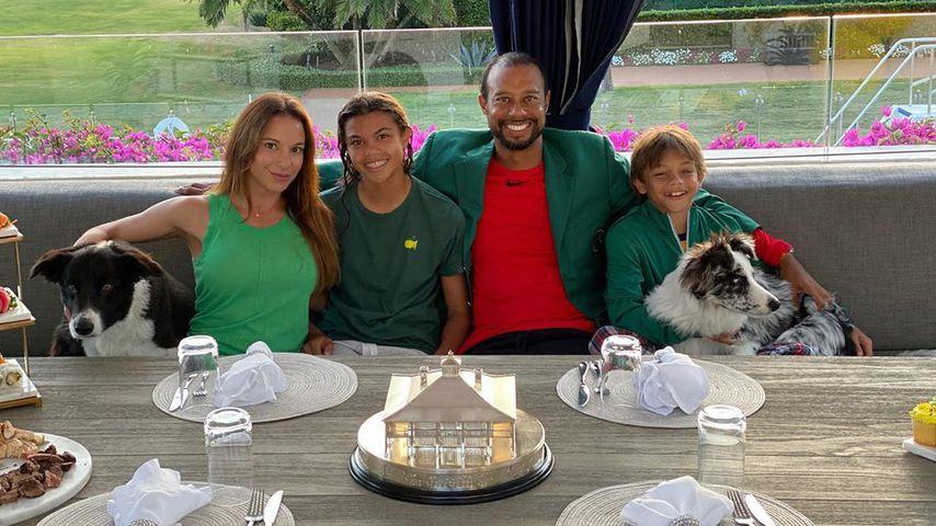 Privat wie nie: Golf-Ass Tiger Woods zeigt seine Familie
