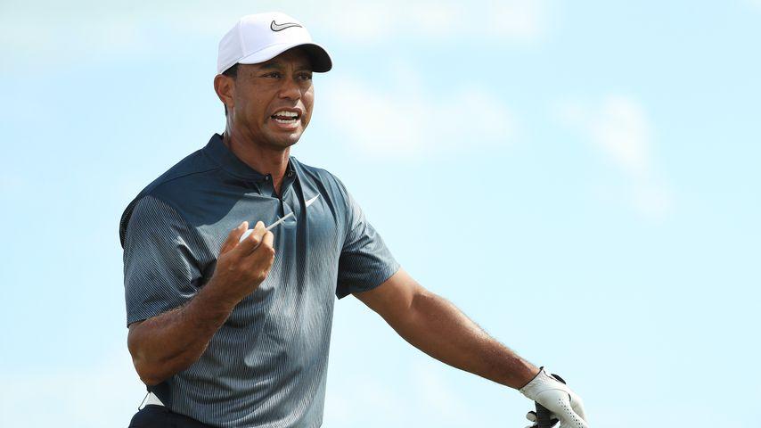 Tiger Woods 2017 auf den Bahamas