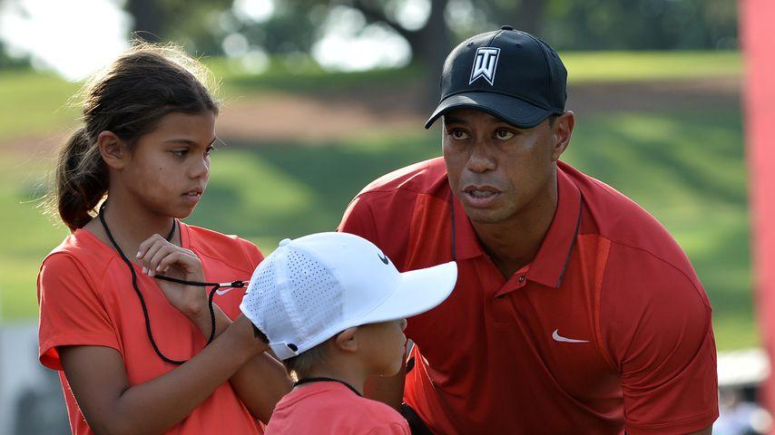 Unfall: Wieso besuchen Tiger Woods' Kinder ihren Papa nicht?