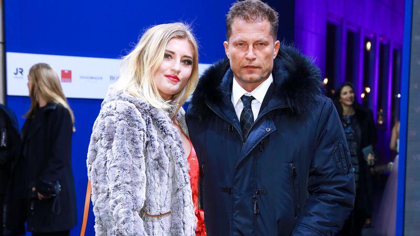 Til Schweiger mit Tochter Luna bei der GQ Men of the Year 2017 Preisverleihung in Berlin