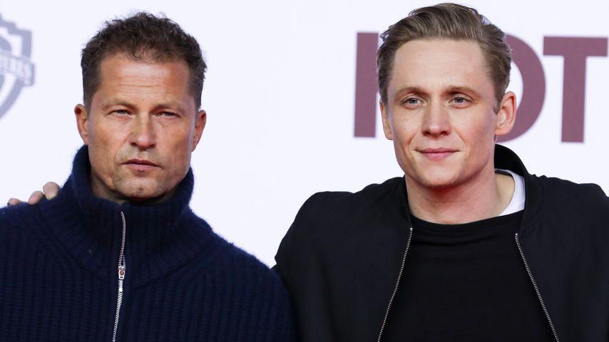 """Til Schweiger und Matthias Schweighöfer bei der """"Hot Dog""""-Premiere 2018"""