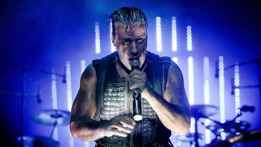 Rammstein-Sänger Till Lindemann beim Tinderbox Festival 2016 in Odense (Dänemark)