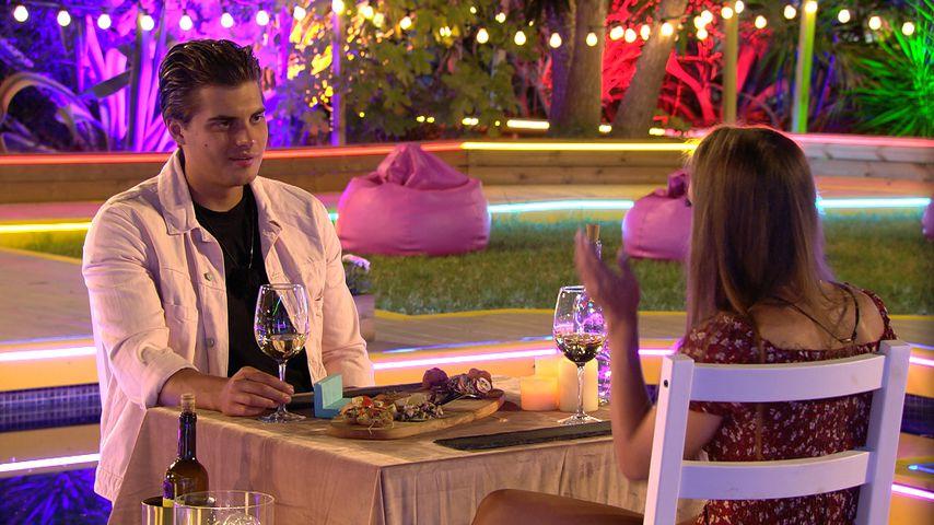 Tim und Melina beim Dinner