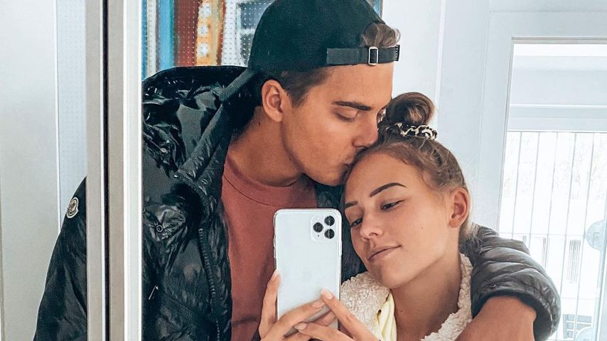 Tim und Melina im November 2020