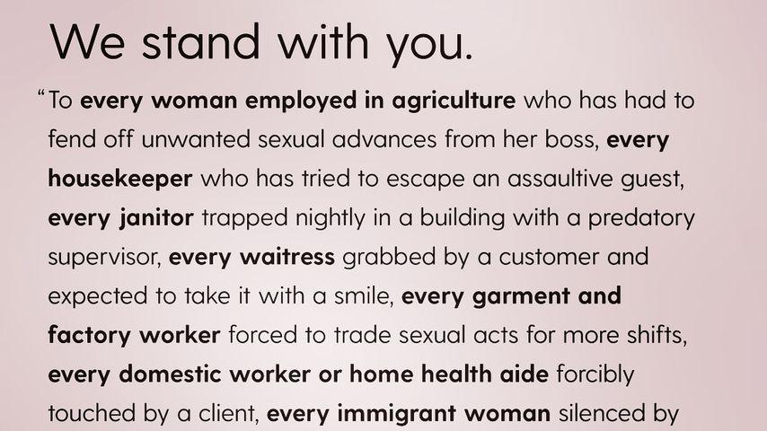 Blake Lively unterstützt #TimesUp-Frauenbewegung