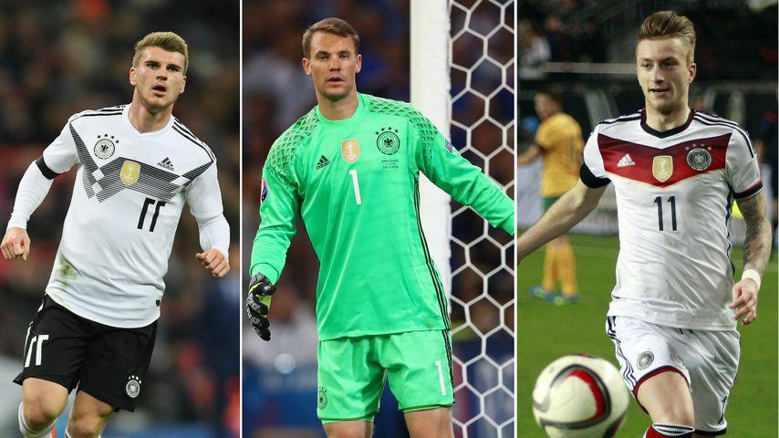 Kurz vor WM: Das sind unsere beliebtesten Nationalkicker!
