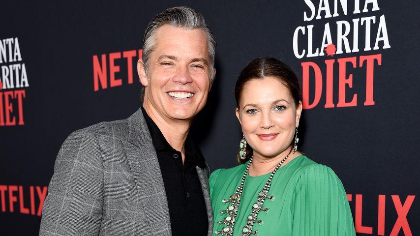 """Timothy Olyphant und Drew Barrymore bei der Premiere der dritten Staffel von """"Santa Clarita Diet"""""""