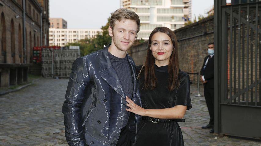 Timur Bartels und Michelle Math beim Deutschen Schauspielpreis, September 2020
