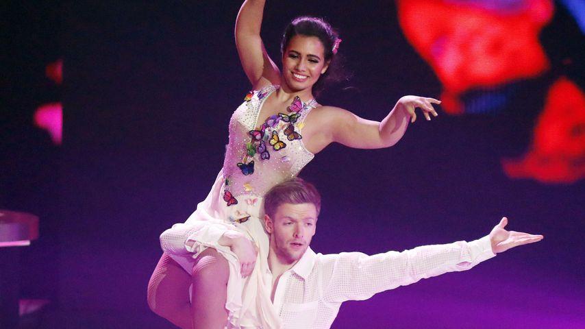 """Timur Bartels und Amani Fancy bei """"Dancing on Ice"""""""