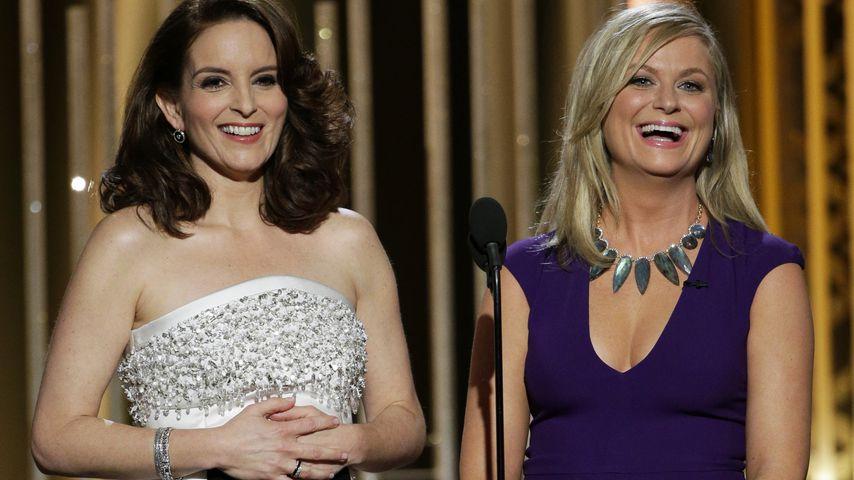 Tina Fey und Amy Poehler bei den Golden Globes in Beverly Hills im Januar 2015