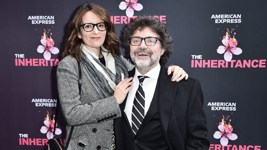 Tina Fey und Jeff Richmond im November 2019