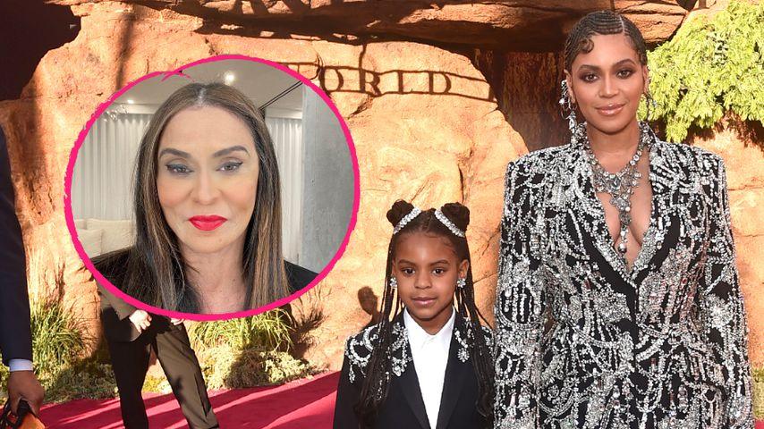 Wow! Beyoncés Mama wird von Enkelin Blue Ivy geschminkt