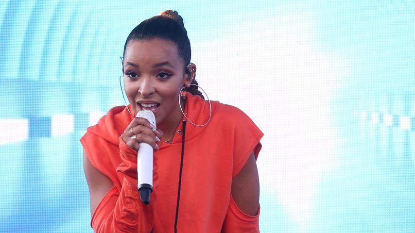 Tinashe beim Billboard Hot 100 Music Festival 2017