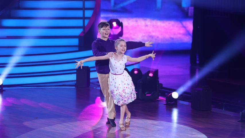 """Tizio und Jona bei """"Let's Dance – Kids"""""""