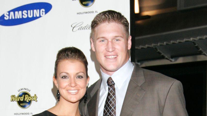 Todd Heap und seine Frau Ashley