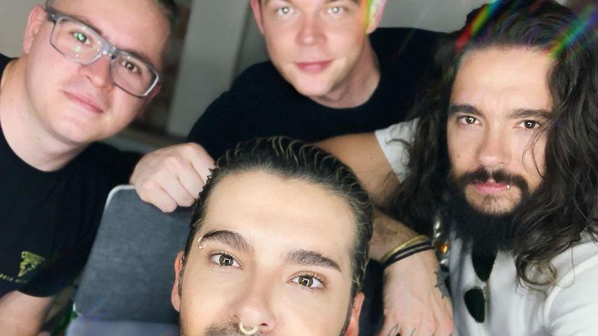 Tokio Hotel nach dem letzten Konzert der Melancholic-Paradise-Tour
