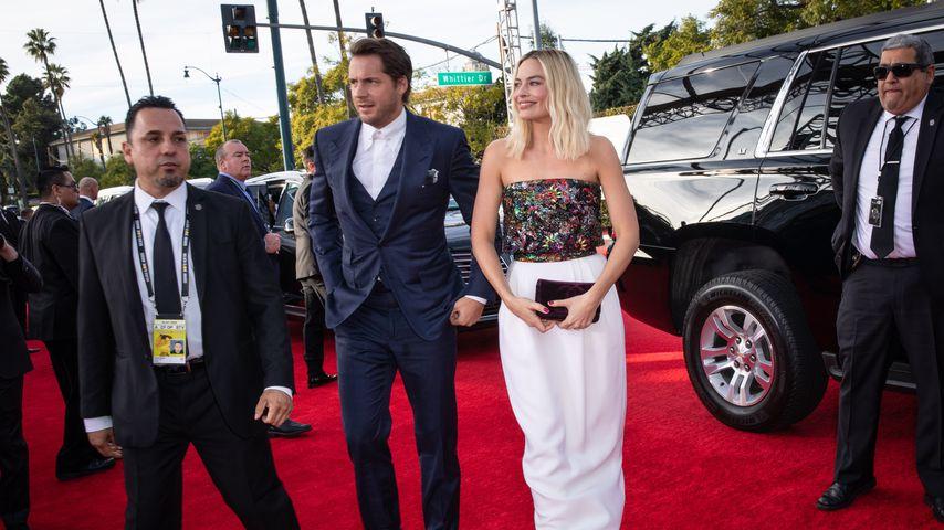 Seltener Auftritt: Margot Robbie mit Mann bei Golden Globes