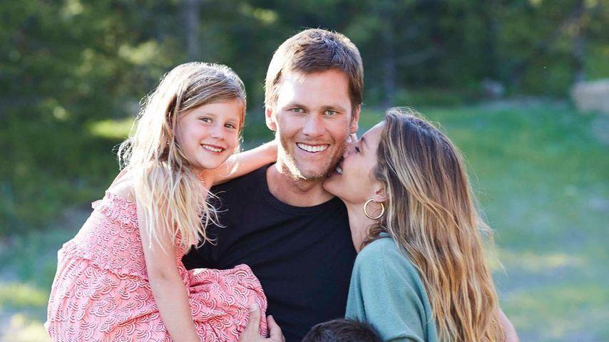 Tom Brady, Gisele Bündchen und ihre gemeinsamen Kinder im August 2020