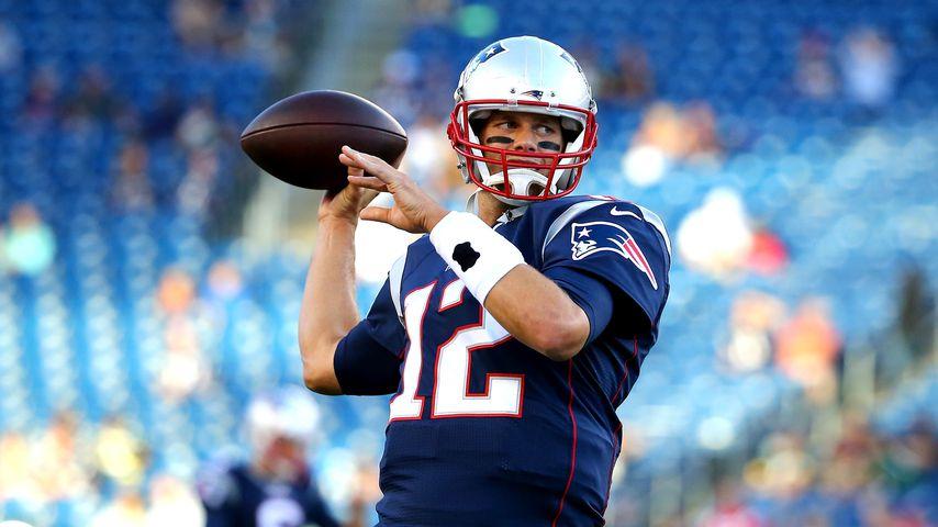 Tom Brady in Foxborough im August 2015