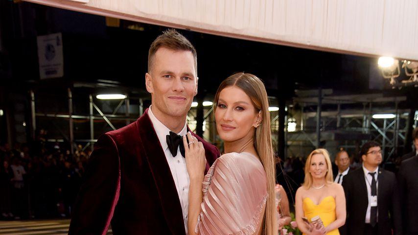 Tom Brady und Gisele Bündchen bei der Met-Gala 2019