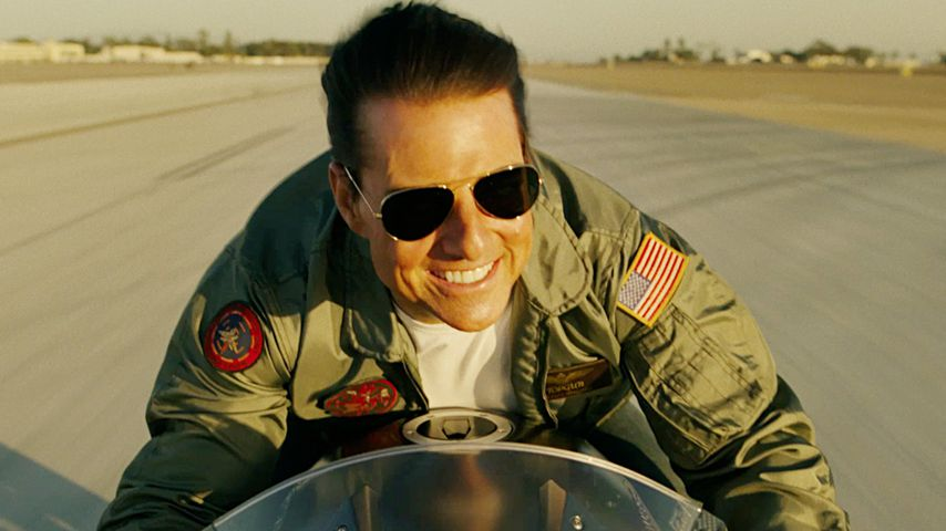 "Tom Cruise im Film ""Top Gun: Maverick"""