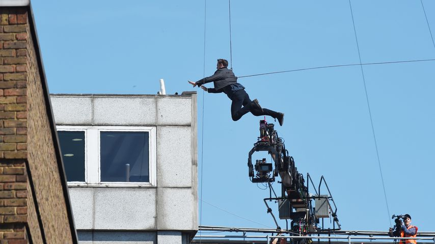 """Tom Cruise am Set von """"Mission Impossible 6"""" in London"""