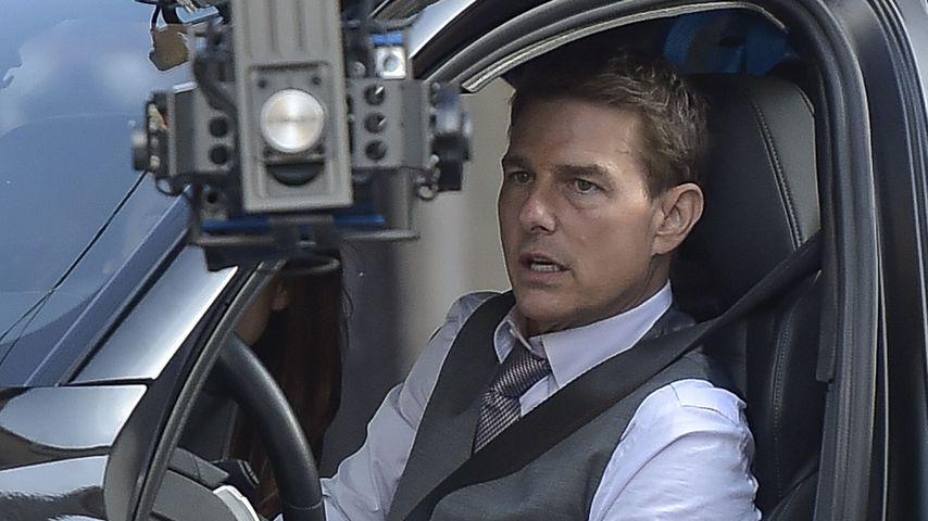 """Tom Cruise am Set von """"Mission: Impossible 7"""" in Rom im Oktober 2020"""